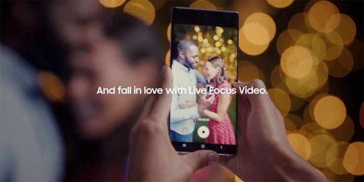 Samsung zeigt Unschärfe-Effekt bei Videos