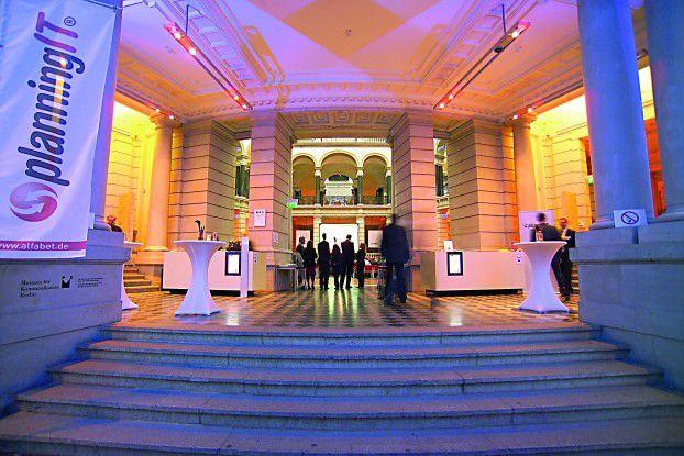 Das Berliner Museum für Kommunikation bildete den Rahmen für die Planning IT Exchange.