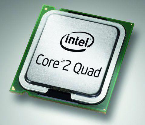 Stammt aus der 45-Nanometer-Fertigung: Intel Core 2 Quad Q8300