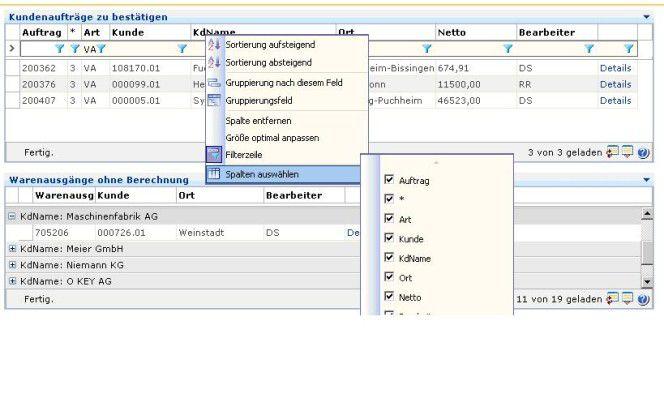 """Im neuen Client der Software """"Applus"""" der AP AG werden definierte Einstellungen pro Benutzer gespeichert, so dass sich auch auf einem gemeinsamen Abteilungsportal jeder Anwender mit seinen spezifischen Informationsbedürfnissen wiederfindet. AP stützt sich dabei auf selbstentwickelte """"Webparts"""" von Microsofts """"Windows Sharepoint Services""""."""