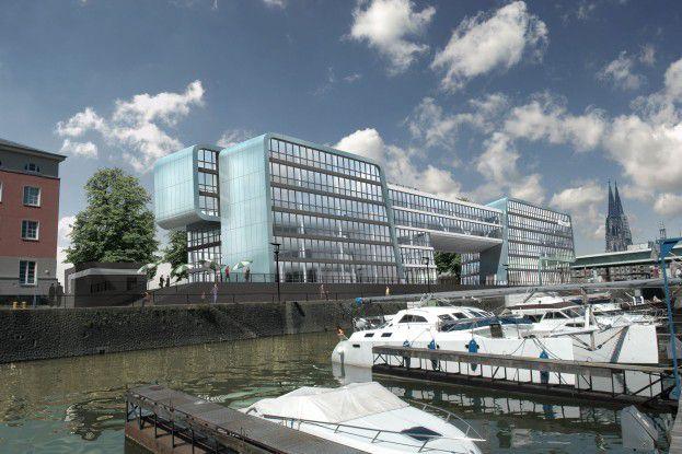 Ehrgeiziges Ziel: Mit seiner jetzt im Bau befindlichen Niederlassung in Köln will Microsoft den modernsten Bürobau errichten.