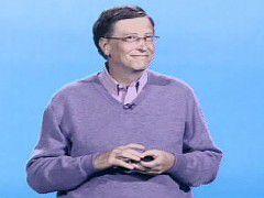 CW-TV zeigt, wie Bill Gates sich seine nächsten Jahre vorstellt.