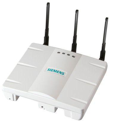 Die neuen Access-Points von Siemens Enterprise Communications gibt es wahlweise mit externen Antennen (AP3620)...