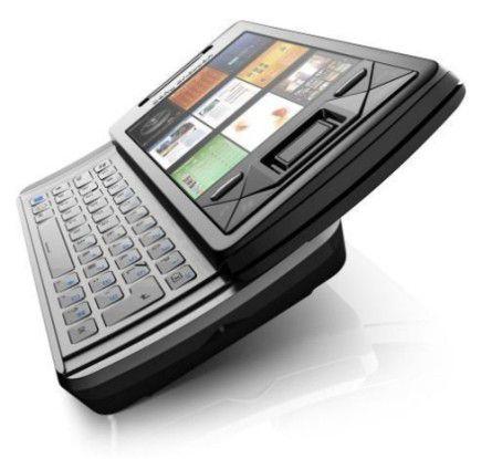 Macht sich rar: Sony Ericsson Xperia X1.
