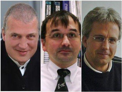 Von links nach rechts: Jens Freitag, Michael Foth, Hans-Jürgen Rinser.
