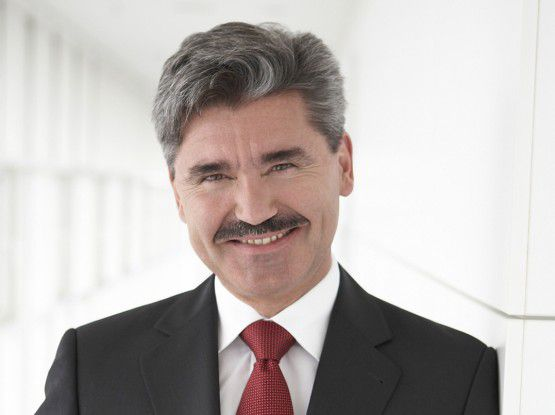 Siemens-Finanzvorstand Joe Kaeser (Fotos: Siemens)