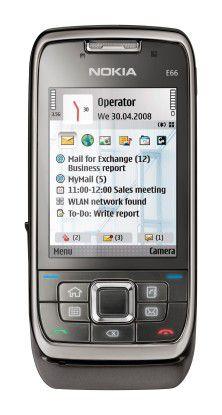 """Das """"E66"""" ist eines der neusten Nokia-Modelle mit S60-Oberfläche."""