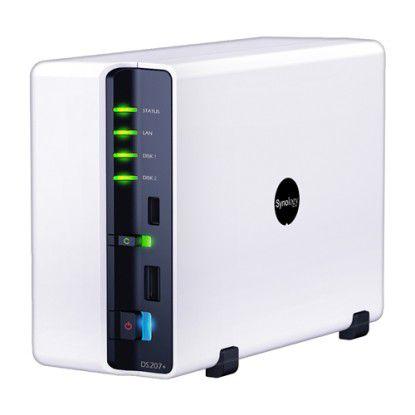 Synologys aktuelle NAS punktet nicht nur mit schneller Hardware, sondern auch mit einer komfortablen Nutzeroberfläche.