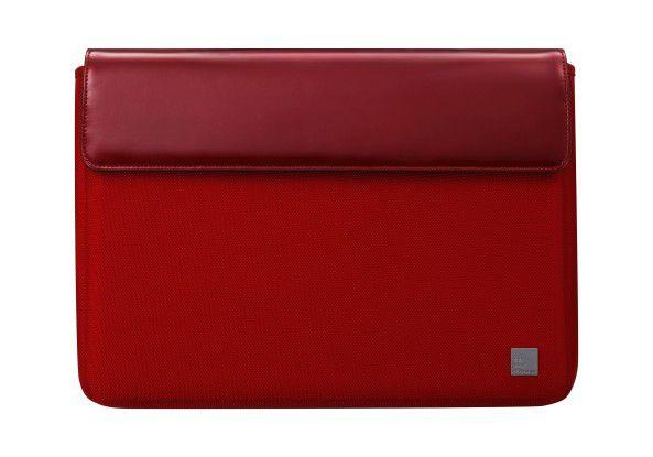 Wer ein Edel-Notebook sein eigen nennt, braucht die entsprechenden Accessoires - wie eine schicke Tasche von Mandarina Duck.
