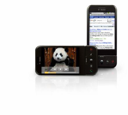 So wird es also aussehen, das erste Google-Handy...