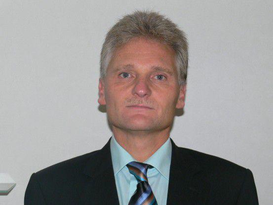 """Jürgen Bechtel, Mennekes, schaffte es beim """"CIO des Jahres 2008"""" in der Kategorie Mittelstand in die Top 10."""