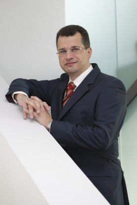 Markus Bentele ist Chief Information Officer (CIO) und Chief Knowledge Officer (CKO) in einem.