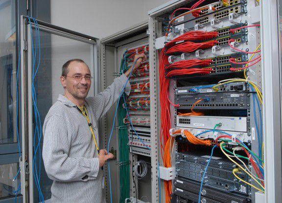 Bernd Schmidt arbeitet als Systemadministrator für die Stiftung Pfenningparade.