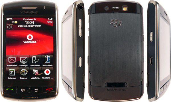Blackberry 9500 Storm im Praxistest.