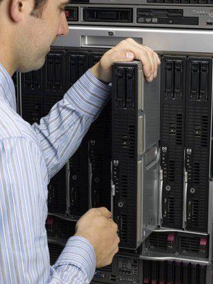 Mit HPs LoadRunner-Software sollen sich Last und Leistung von Applikationen auf ausgewählten Infrastruktur-Komponenten – im Bild HP Integrity Blade NB5000CB – testen lassen.