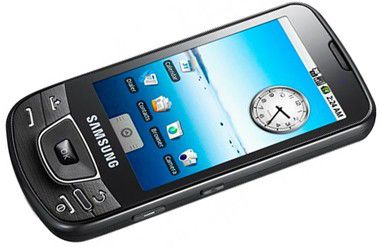 Samsung i7500 - Touchscreen ohne Extra-Tasten mit Android ab Juli.