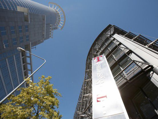 Die T-Systems-Zentrale in Frankfurt