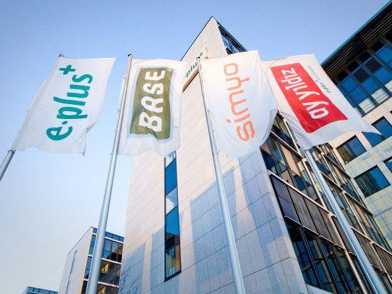 Die Zentrale der E-Plus-Gruppe