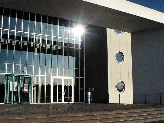 Eingang zur IDS-Scheer-Zentrale in Saarbrücken (Fotos: IDS Scheer)