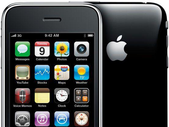 Apples iPhone liegt im Smartphone-Segment inzwischen vor Windows Mobile.