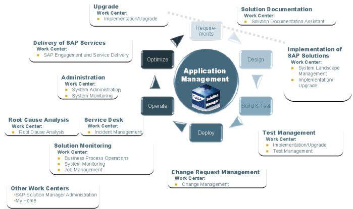 Komponenten des SAP Solution Managers (Quelle: SAP).
