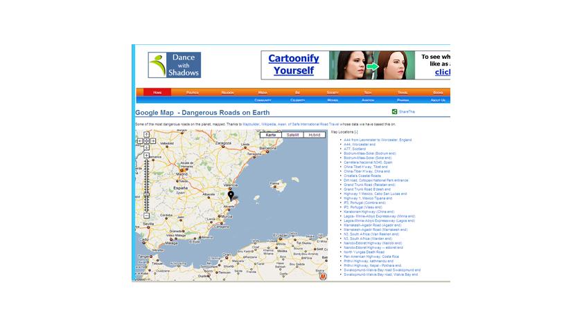 Praktische Erweiterungen: besten Mashups für Google Maps ... on