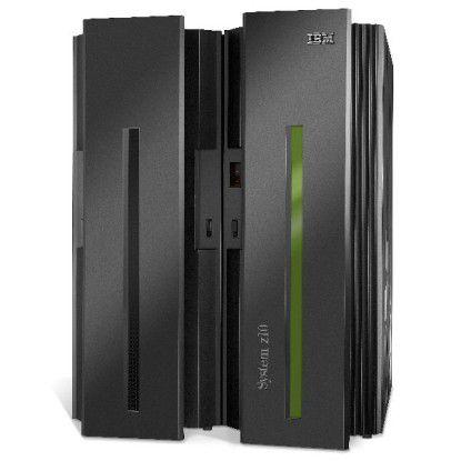 Das ist noch die Vorgänger-System-z-Variante: System-z10. Die jetzt präsentierten zEnterprise-Mainframes sollen bei bestimmten Workloads bis zu 60 Prozent leistungsfähiger sein.