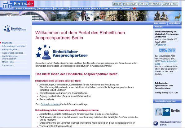 Das neue Portal des Landes Berlin.