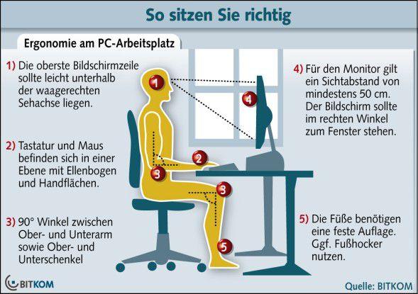 Rückenschmerzen 6 Tipps Für Schmerzfreies Sitzen Im Büro