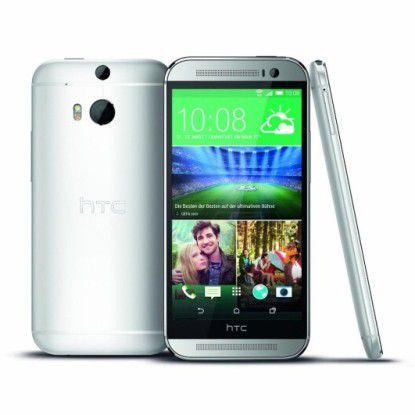 Erhält jetzt Lollipop-Update: HTC One (M8)