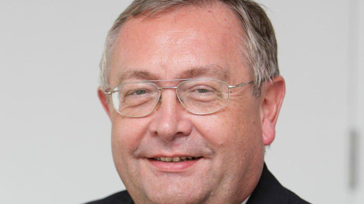 """Rainer Janßen, CIO von Munich Re gewinnt dieses Jahr den """"Global Exchange Award""""."""