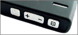 TIPPEN ODER TASTEN Die Bedienung des Nokia 770 erfolgt per Stift und Touchscreen beziehungsweise über die Knöpfe