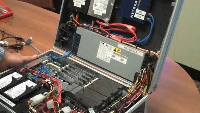 Das Rechenzentrum zum Mitnehmen mit zwei Intel-Xeon-Prozessoren als Herzstück.