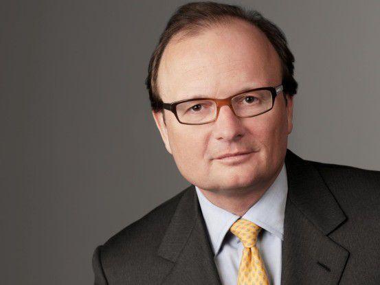 Michael Hütteb: Der künftige Ex-Chef von Gigaset ist erst seit Ende Oktober im Amt.