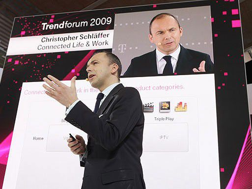 "Christopher Schläffer beim ""Trendforum 2009"""