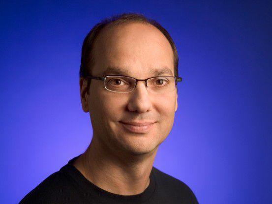 "Andy Rubin: ""Nur Android-kompatible Geräte profitieren vom kompletten Android-Ökosystem."""