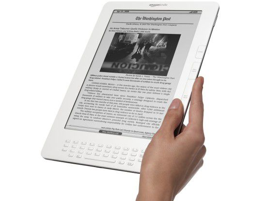 "Amazons E-Book-Reader ""Kindle DX"""
