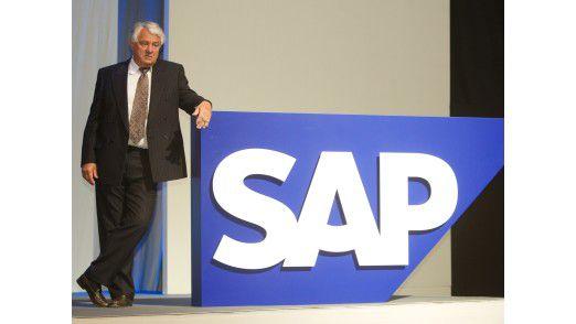 Hasso Plattner bleibt bei SAP wohl weiter der Strippenzieher im Hintergrund.