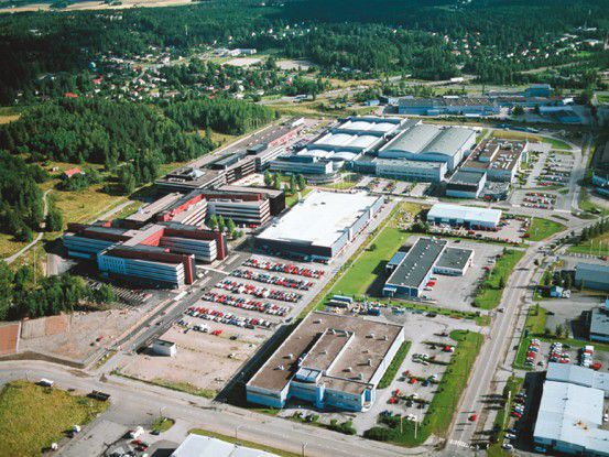 Nokia-Fabrik in Salo (Finnland)