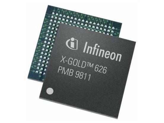 """Ein Infineon-Basisband-Prozessor """"X-GOLD 626"""" (HSPA+)"""