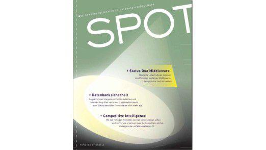 Die erste Ausgabe des neuen SPOT-Magazin