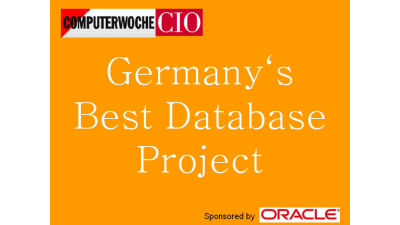 Bewerbungen bis 23. April: CIO und Computerwoche suchen Germany's Best Database Project
