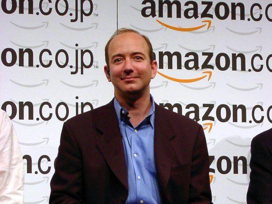 Amazon-Chef Jeff Bezos stellt Wachstum weiter über Profit.