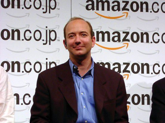 Amazon.com-Gründer und -CEO Jeff Bezos