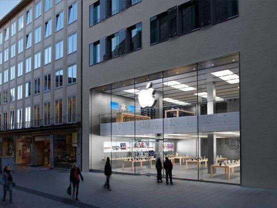 Der Apple Store München in der Rosenstraße