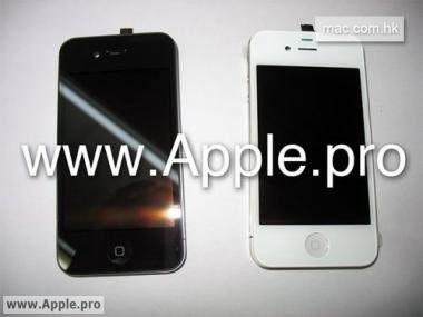 Weißer Riese - angeblich kommt das iPhone 4G auch mit einer weißen Vorderseite auf den Markt.