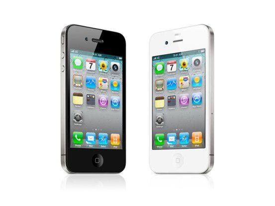 Geht weg wie die sprichwörtlichen warmen Semmeln: das neue iPhone 4 von Apple.
