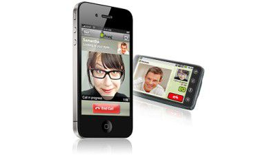 Flexible Facetime-Alternative: Fring bringt Videotelefonie auf das iPhone 4 - Foto: Fring