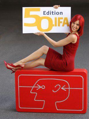 Die Internationale Funkausstellung (IFA) findet 2010 zum 50. Mal unter dem Berliner Funkturm statt.