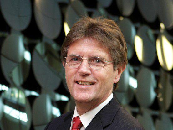 Freut sich über die guten Ergebnisse der Benchmark-Studie: CIO Klaus Vitt.